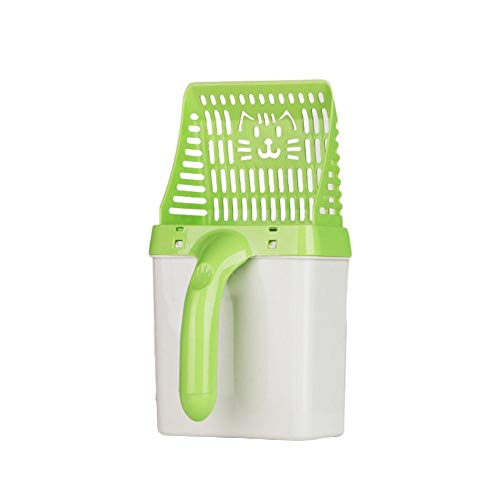advancethy Litter Scoop Sifter with Deep Shovel Pet Toilet Processor Spoon Cat Dog Litter Scoops Neat Tidy