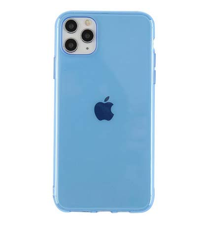HUAI Carcasa de silicona suave para iPhone 11 Pro X XR XS Max 7 8 7Plus (color: BE, material: para iPhone 11 Pro)