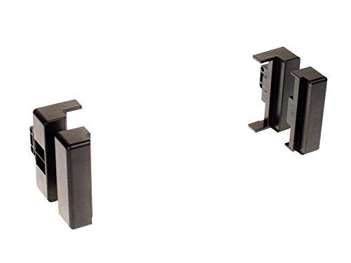 ACV 281320-01 1-DIN Radioblende für Audi A4/A6/A8 schwarz