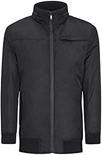 Tarocash Men's Hetfield Textured Zip Thru Jacket Sizes Small - 5XL for Going Out Smart Occasionwear