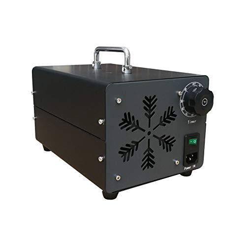 Limpiador de 5g /15g /20g /30g /40g Generador de ozono natural Olor removedor y del purificador de aire Comfort acero inoxidable Comercial,Profesional ozonizador, desodorante y Esterilizador,Negro,40g