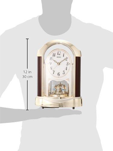 セイコークロック『置時計(BY237G)』