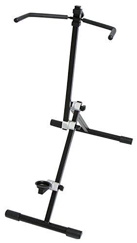 BSX 452232 - Soporte de violonchelo, plegable, color negro