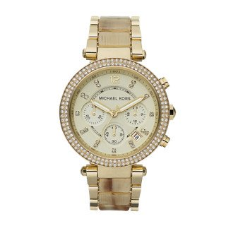 Micheal Kors Damen-Armbanduhr Chronograph Quarz Edelstahl MK5632