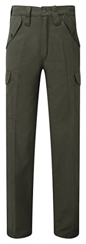 Castle Clothing, 901/GN-44, Castello 901 Pantaloni Lunghezza combattimento Blu, Verde, 901