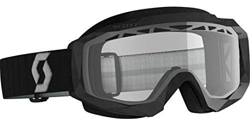 Scott Hustle X Enduro MX Goggle Cross/MTB Brille schwarz/grau/klar