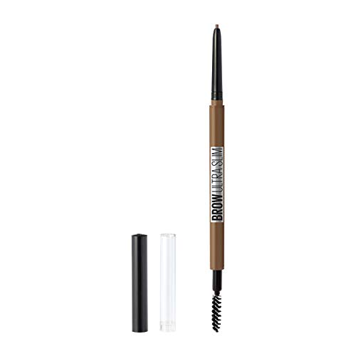 Maybelline New York Brow ultra slim defining eyebrow pencil, 255 Soft Brown, 0.003 Ounce