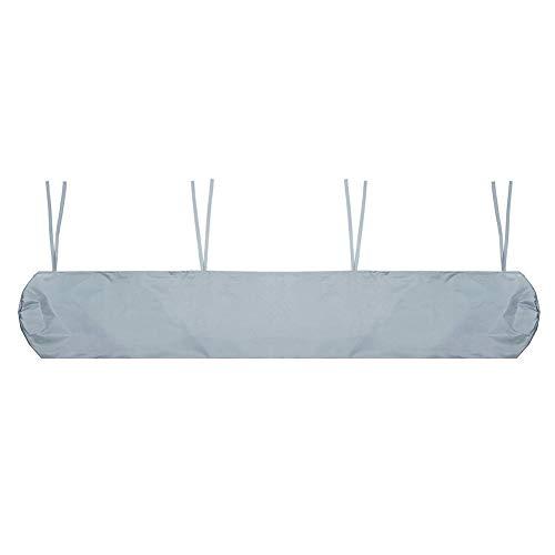 GUOXIANG Schutzhülle für Markisen Abdeckung Wandmarkise Markise Markisenabdeckung Wasserdicht Wasserdicht und strahlenbeständig SchutzhülleGrau -4.5m