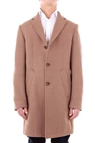 Daniele Alessandrini Luxury Fashion Mens Coat Spring Brown