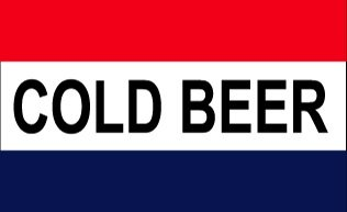 Top cold beer flag for 2021