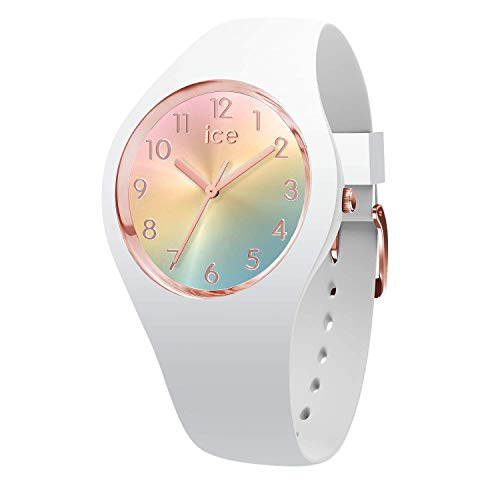 Ice-Watch - Ice Sunset Rainbow - Damen wristwatch mit Silikonarmband - 015743 (Small)