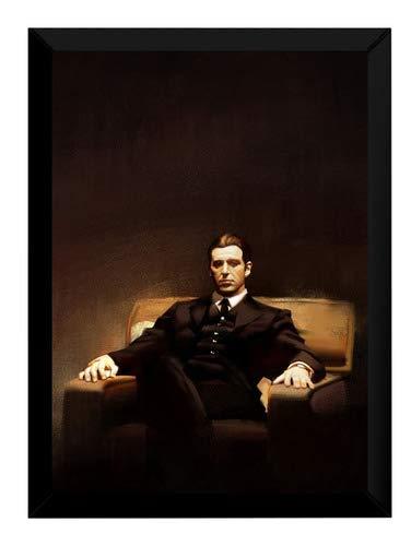 Quadro O Poderoso Chefão 3 Al Pacino Arte Poster Moldurado