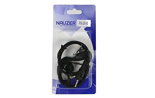 NAUZER PIN-29-K5 Pinganillo Profesional Micro-Auricular para Walkie Talkie Kenwood TK3601