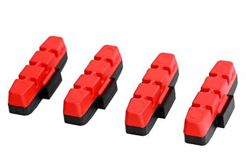 Magura Unisex– Erwachsene HS11/HS33/HS33 R, rot, 2 Paar = 4 Stück