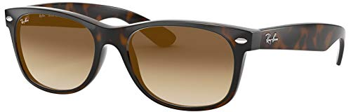 Ray Ban Wayfarer RB2132 710/51 Shiny Havana/Crystal marrón Degradado Gafas de sol 52 mm