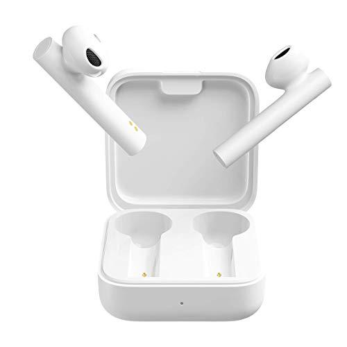 Xiaomi Mi True Wireless Earphones 2 Basic Los nuevos Auriculares Tienen una autonomía de batería más Larga, Sonido, fácil de Combinar, Color Blanco (versión Global) (Reacondicionado)