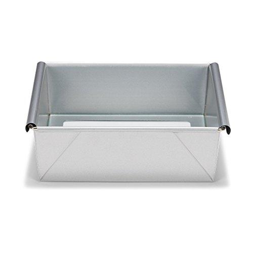 Patisse Silver-Top-Plaque de Cuisson carrée avec Base Amovible, 21 cm
