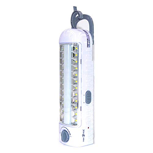 Luce 96 Led Portatile, Lampada Emergenza, da Campeggio e Multifunzione a LED, Ricaricabile, 4000mAh, 96LED, Tempo Lungo, Risparmio Energetico, Lunga Vita.