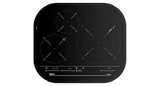 Teka IRC 6320 - Placa de inducción de 3 zonas con Touch Control MultiSlider, 7300 W, Negro
