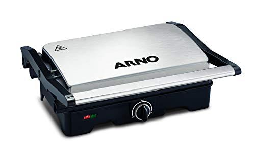 Grill Dual Inox Arno Preto E Inox 110v