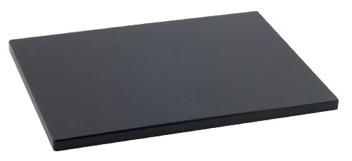 Metaltex 73291538 – Tagliere in polietilene, 29 x 20 x 1,5 cm, Nero