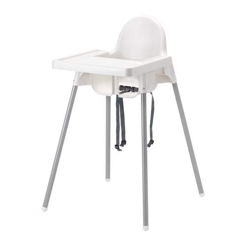 Ikea ANTILOP Highchair with Tray [White]