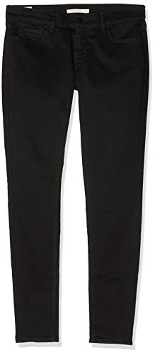 Levi's Damen Innovation Super Skinny Jeans, Black Galaxy 0039, 29W / 28L