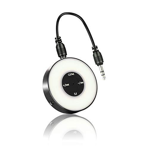 prowithlin Bluetooth 4.2 Sender/Empfänger, 2 in 1 Bluetooth Audio Adapter Freisprecher HiFi Musiksender für TV PC Auto Telefon Wireless Headset ect(Schwarz)