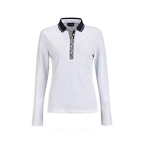 GOLFINO Blossom Dry Comfort Polo Damen weiß 44