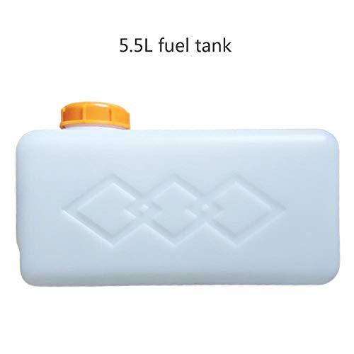 luckything Kunststoff Heizöl Benzin Tank Universal Für Auto LKW Boot Standheizung, 5,5 L Kraftstofftank Öl Benzin Diesel Benzin Kunststoff Storge Kanister Wassertank Für Boot Auto LKW Heizung Zubehör
