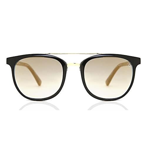 Etnia Barcelona Gafas de Sol SERT SUN Black/Light Brown Shaded 52/18/135 unisex