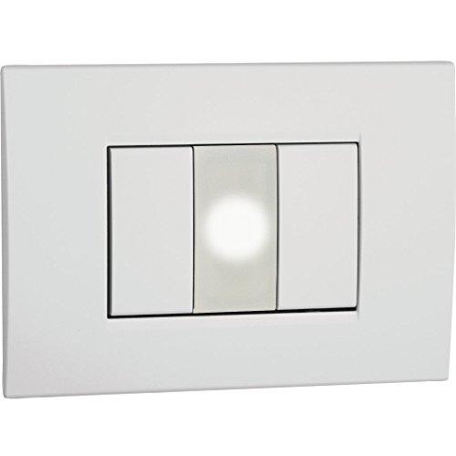 Vemer VE758300 Lampada di Emergenza Vega da Incasso Non Estraibile, 230 V, Neutro