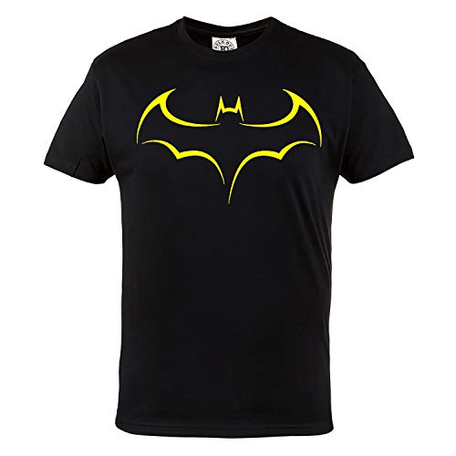 Rule Out t-shirt. batman. SCURO knight. supereroe palestra. bodybuilding. allenamento. sportswear. crossfit. fitness. MARZIALE arti. Casual - Nero, Small