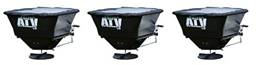 Best Review Of ATVS100 ATV All-Purpose Broadcast Spreader 100 lb. Capacity with Rain Cover 3EA