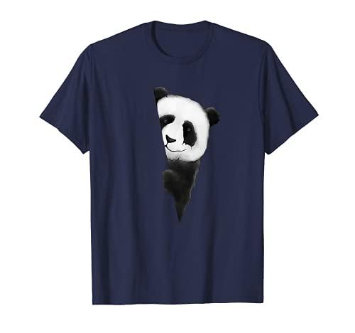 Lieblingstier Pandabär Fan-Art bäriger Panda Bär T-Shirt