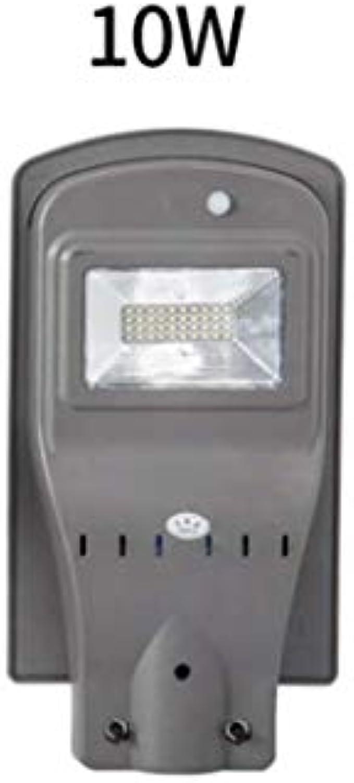 Angetriebenes Straenlaterne-Solarlicht im Freien Straen-Flutlicht-Dmmerung zum Dmmerungs-Licht , Wasserdichtes Scheunen-Licht IP65 LED im Freien, LED-Sicherheitslicht für Bereichs (watt   10w)