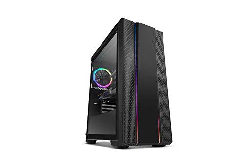 Nox Hummer Fusion - NXHUMMERFSN - Caja PC, ATX,  RGB, Color Negro