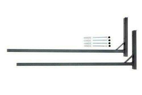 QLS Dachboxenhalterung Dachboxträger Wandhalterung Halterung Dachboxhalter 82 cm