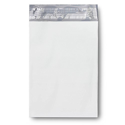 KKBESTPACK Poly Mailers Envelope Shipping Bags (white, 6 x 9 Pack of 100)