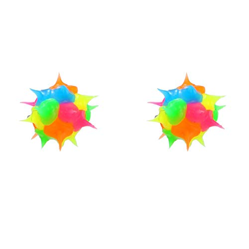 RKWEI Pendientes para Mujer 1 par Cute Sun Smile Face Stud Pendientes para Mujer Chica Chic Colorful Jelly ColorStud