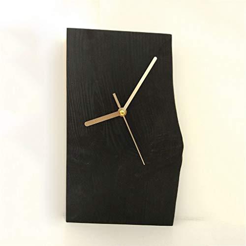 YLCJ horloge, dagboek, woonkamer, massief hout, Europese stijl, stil, creatieve mute-aan de muur
