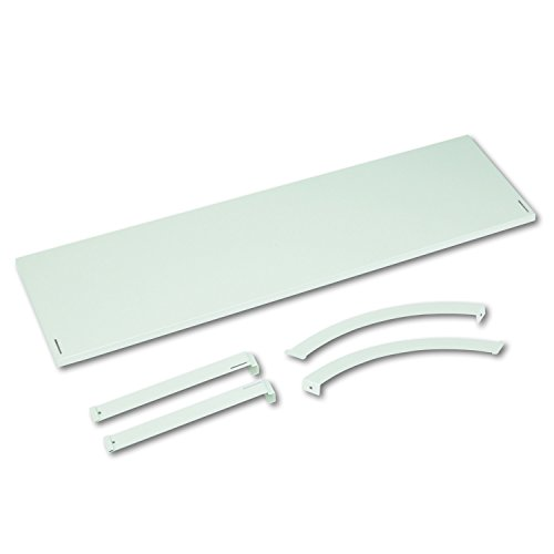 basyx Verse Panel System Hanging Shelf 48w x 12-3/4d Gray