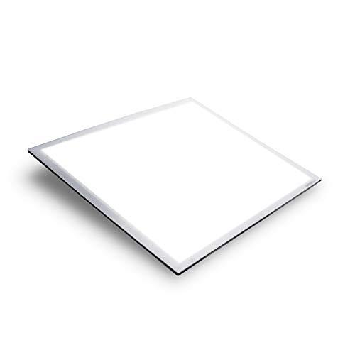 Walimex pro Shining White 600 – sehr großer, hochwertiger LED Leuchttisch, Leuchtplatte, Zeichenbrett, 60x60 cm, dimmbar, 23 Watt, 5600K Tageslicht, 2.520 Lumen, CRI ≥ 90 Ra, Zeichnen Malen Abpausen