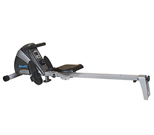 Aerofit AF 803 Rowing Machine with 10 Level Magnetic Resistance and LCD Display