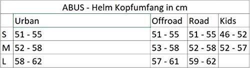 Abus Erwachsene Fahrradhelm Hyban, Green, 52-58 cm - 6