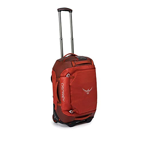 Osprey Europe Rolling Transporter 40 Unisex Durable Wheeled Travel Pack - Ruffian Red (O/S)