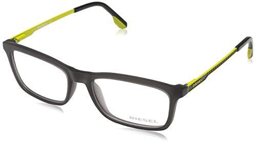 Diesel DL5048 53020 Diesel Brille DL5048 020 53 Rechteckig Brillengestelle 53, Schwarz
