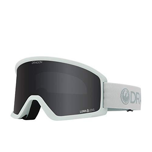 Dragon Alliance Mens DX3 OTG Snow Goggles, Lightsalt/Lumalens Dark Smoke, Lightsalt/Lumalens Dark Smoke, OFA