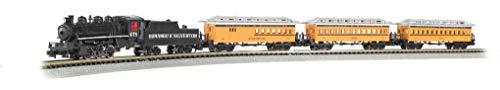Bachmann Trains - Durango & Silverton Ready To Run Electric Train Set - N Scale