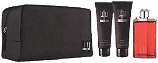 Dunhill Desire Red Gift Set for Men 100ml Eau de Toilette After Shave Balm 90ml Shower Gel 90ml And Bag